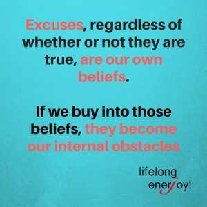 Excuses are beliefs