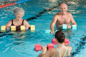 Aerobics training is a good exercise to prevent dementia