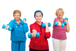 Weight lifting is a healthy way to prevent dementia