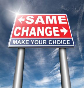 same? or change? Your choice