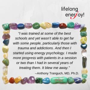 Energy medicine testimonial