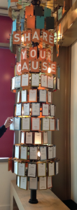 Share Your Cause Wheel At Gates Foundation