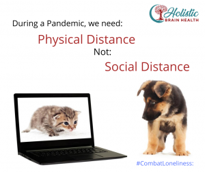 Physical not Social Distancing