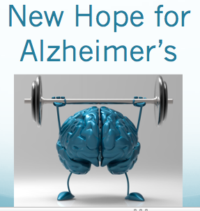 New Hope For Alzheimer's